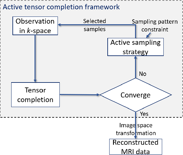 Figure 1 for Active Sampling for Accelerated MRI with Low-Rank Tensors