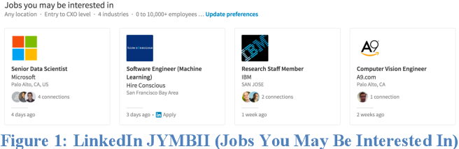 Figure 1 for Recommending Dream Jobs in a Biased Real World