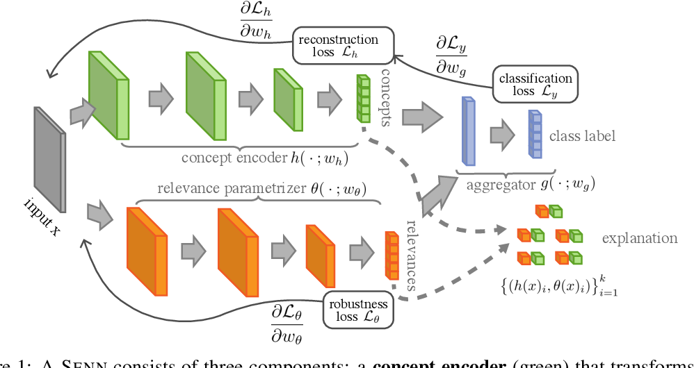 Figure 1 for Towards Robust Interpretability with Self-Explaining Neural Networks
