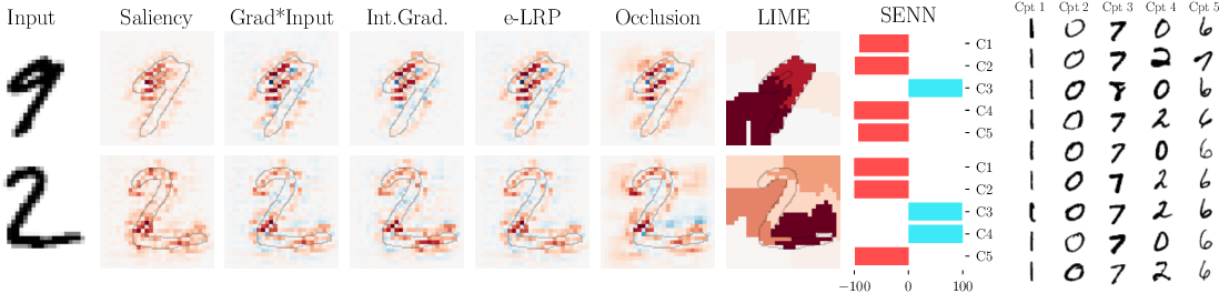 Figure 2 for Towards Robust Interpretability with Self-Explaining Neural Networks