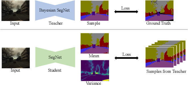 Figure 1 for Learning the Distribution: A Unified Distillation Paradigm for Fast Uncertainty Estimation in Computer Vision