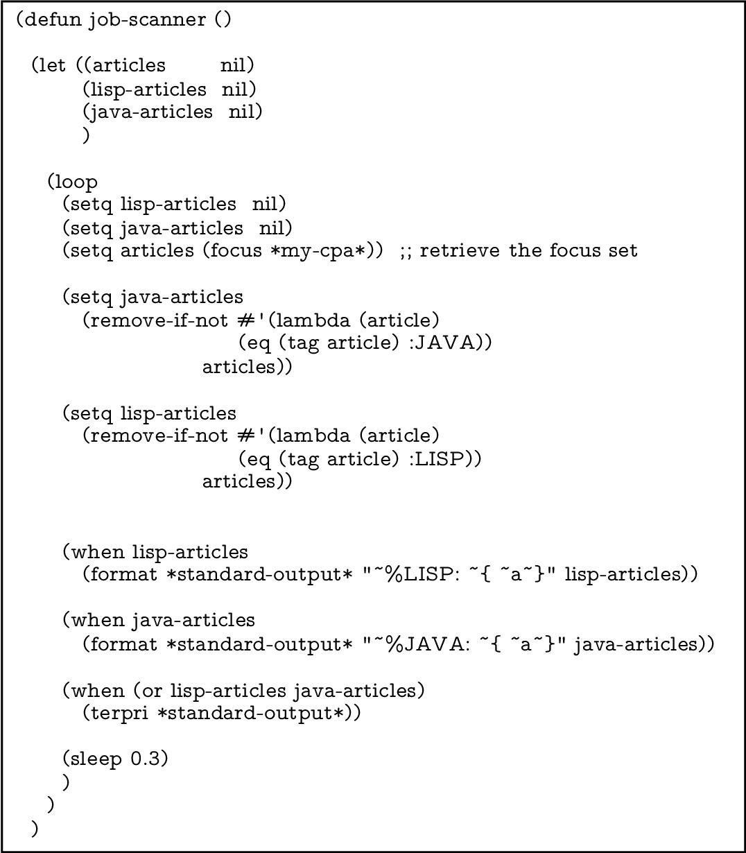Terpri In Lisp