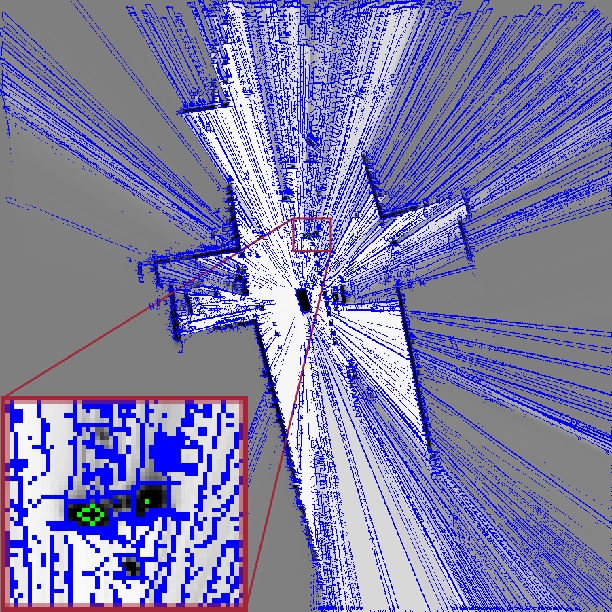 Figure 3 for Offline Object Extraction from Dynamic Occupancy Grid Map Sequences