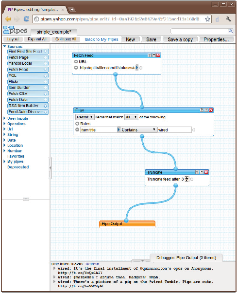 Figure 1 from Erl-metafeed: Web feeds mashup engine and GUI widget