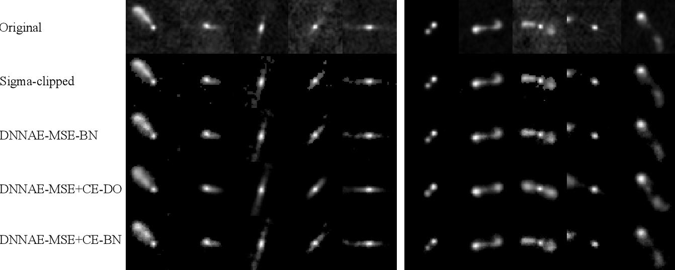Figure 3 for Radio Galaxy Morphology Generation Using DNN Autoencoder and Gaussian Mixture Models