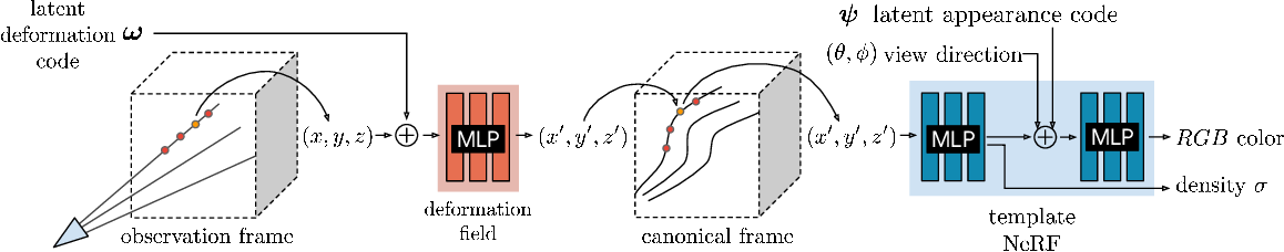 Figure 2 for Deformable Neural Radiance Fields