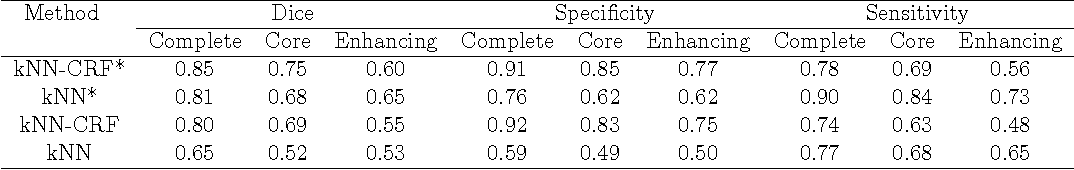 Figure 2 for Within-Brain Classification for Brain Tumor Segmentation