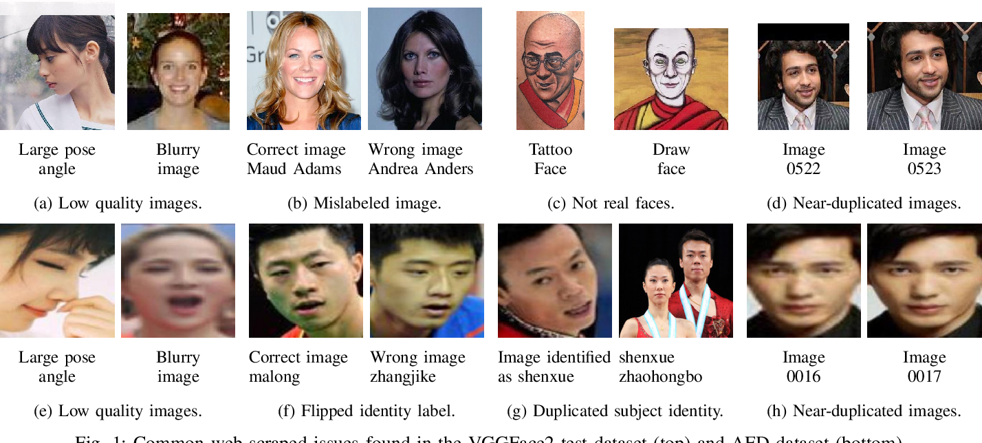 Figure 1 for A Method for Curation of Web-Scraped Face Image Datasets