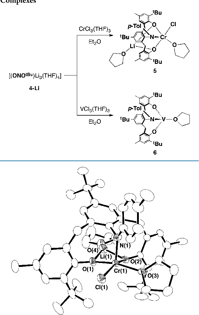 Figure 4 From Methylene Linked Anilide Bisaryloxide Ligands