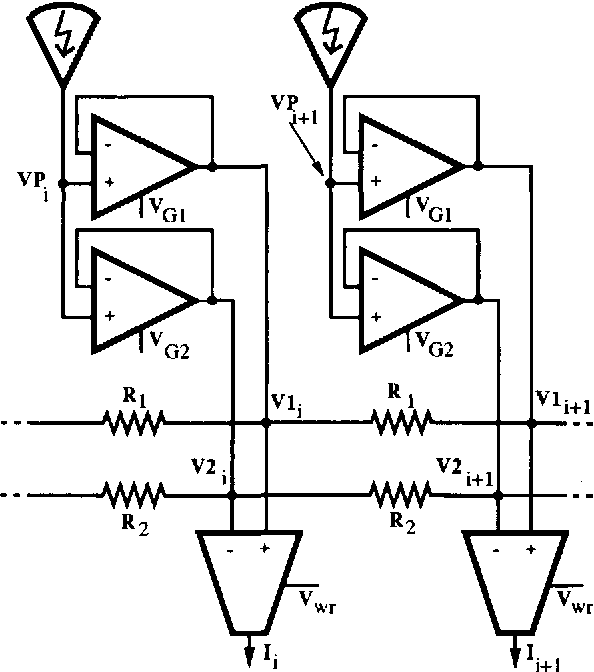 Figure 4 From Computing Motion Using Analog Vlsi Vision Chips An