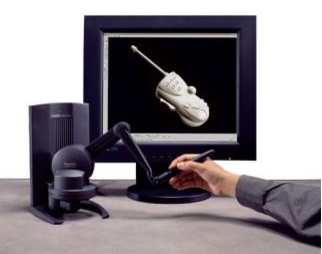 Figure 2 for Haptic devices and objects, robots and mannequin simulation in a CAD-CAM software: eM-Virtual Desktop