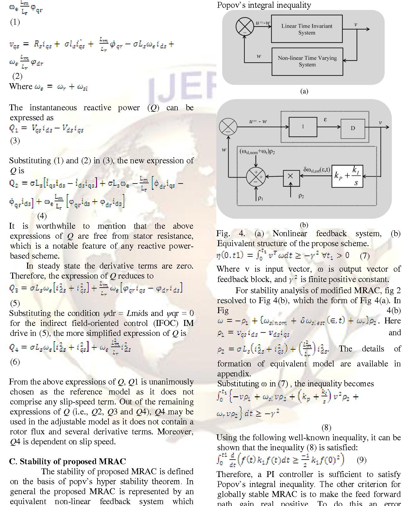 Figure 3 from Online Estimation Of Rotor Time Constant And Speed For ...