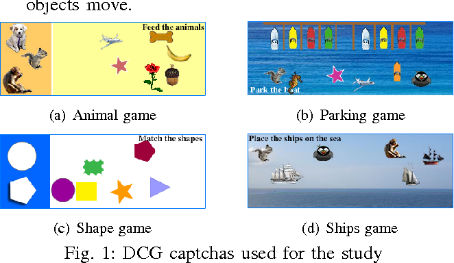 PDF] Dynamic Cognitive Game CAPTCHA Usability and Detection of
