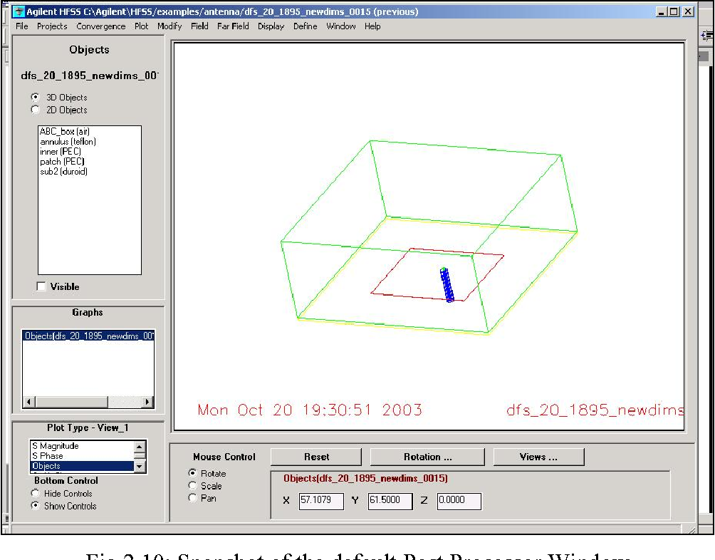 Figure 2 10 from SIMULATION OF RECTANGULAR, SINGLE-LAYER, COAX-FED