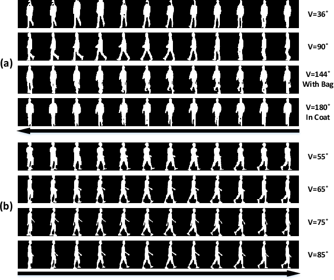 Figure 1 for TraND: Transferable Neighborhood Discovery for Unsupervised Cross-domain Gait Recognition