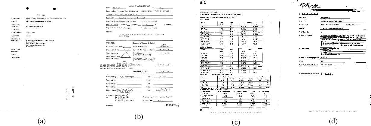 Figure 1 for StructuralLM: Structural Pre-training for Form Understanding