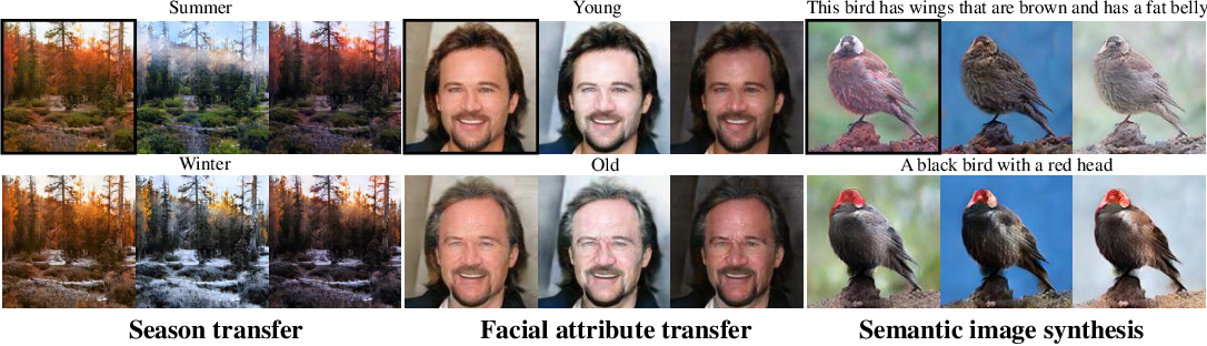 Figure 1 for Multi-mapping Image-to-Image Translation via Learning Disentanglement
