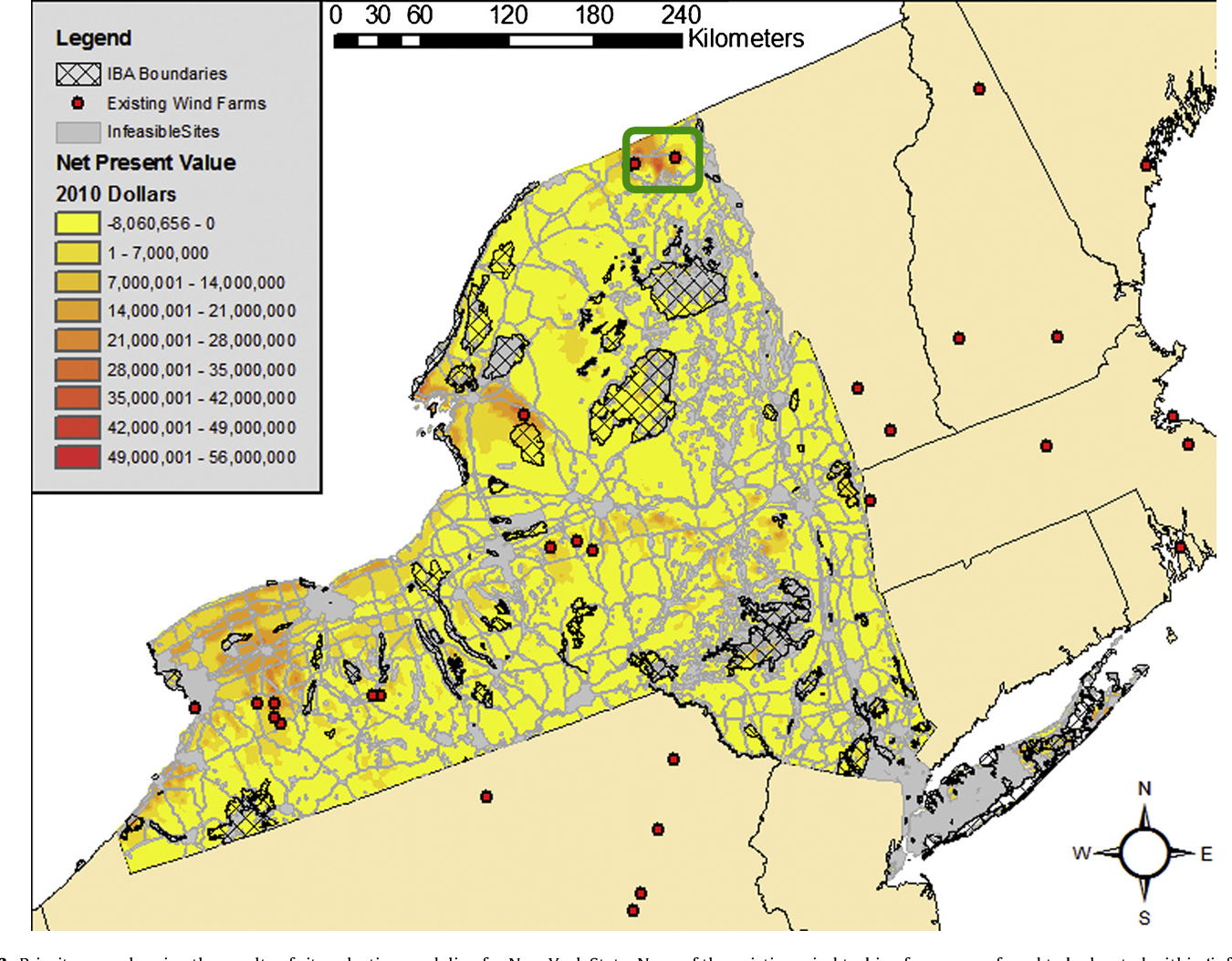 Figure 3 from GIS-based wind farm site selection using
