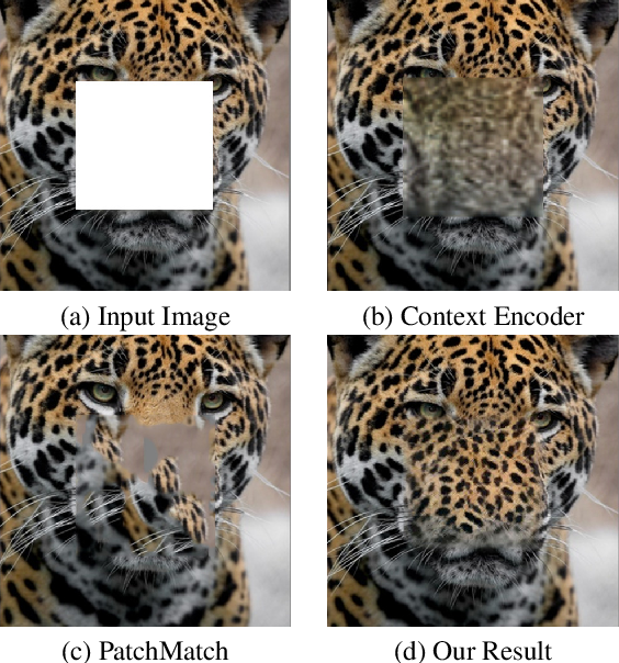 Figure 1 for High-Resolution Image Inpainting using Multi-Scale Neural Patch Synthesis