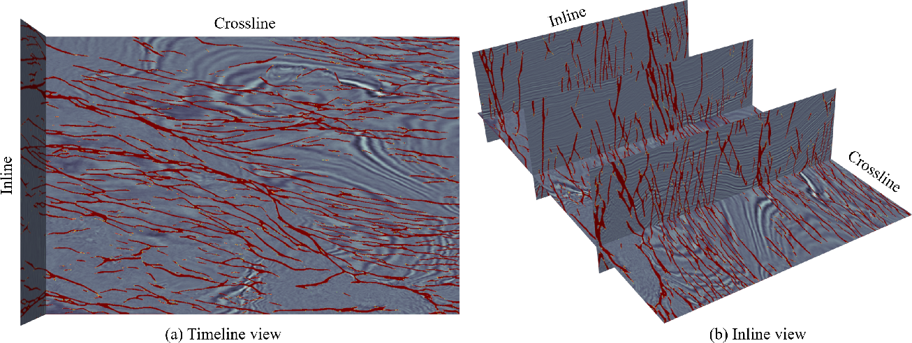 Figure 2 for Efficient Training of High-Resolution Representation Seismic Image Fault Segmentation Network by Weakening Anomaly Labels