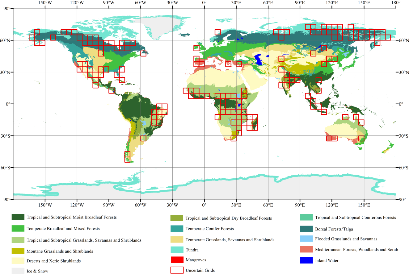 Figure 3 for Improving Global Forest Mapping by Semi-automatic Sample Labeling with Deep Learning on Google Earth Images