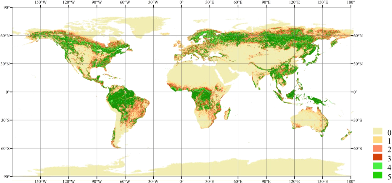 Figure 1 for Improving Global Forest Mapping by Semi-automatic Sample Labeling with Deep Learning on Google Earth Images