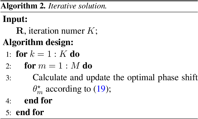 Figure 2 for Passive Beamforming Design for Intelligent Reflecting Surface Assisted MIMO Systems