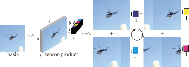 Figure 1 for Graph Regularized Tensor Sparse Coding for Image Representation