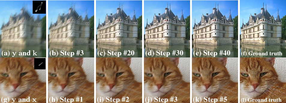 Figure 3 for Learning an Optimizer for Image Deconvolution