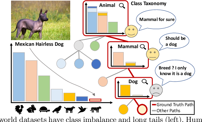 Figure 1 for Solving Long-tailed Recognition with Deep Realistic Taxonomic Classifier