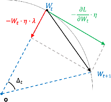 Figure 1 for Spherical Motion Dynamics of Deep Neural Networks with Batch Normalization and Weight Decay