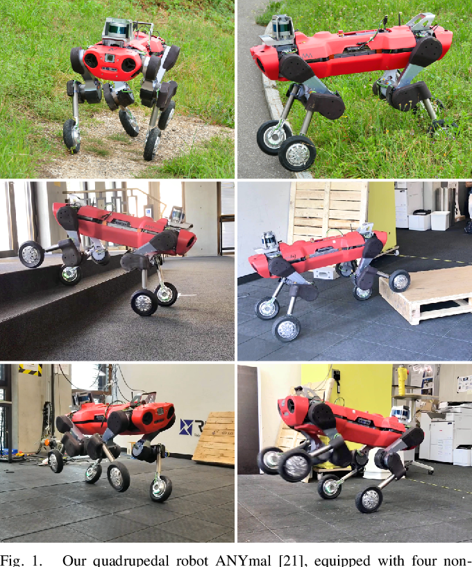 Figure 1 for Whole-Body MPC and Online Gait Sequence Generation for Wheeled-Legged Robots