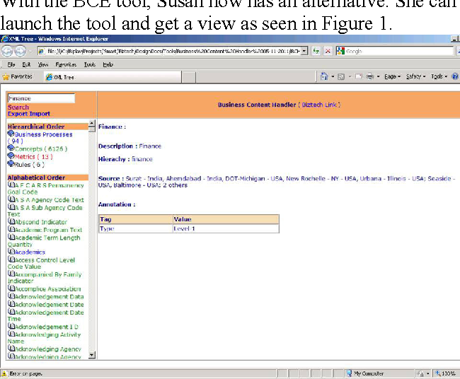 Using business content explorer for smarter projects - Semantic Scholar