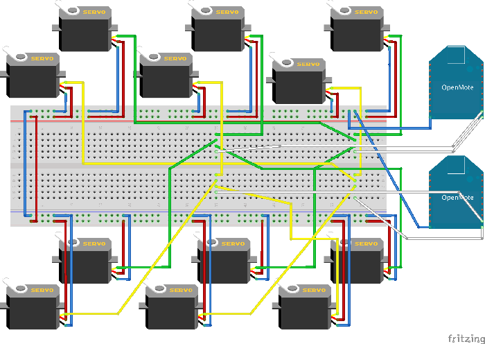 Figure 4 for Decentralized Control of a Hexapod Robot Using a Wireless Time Synchronized Network