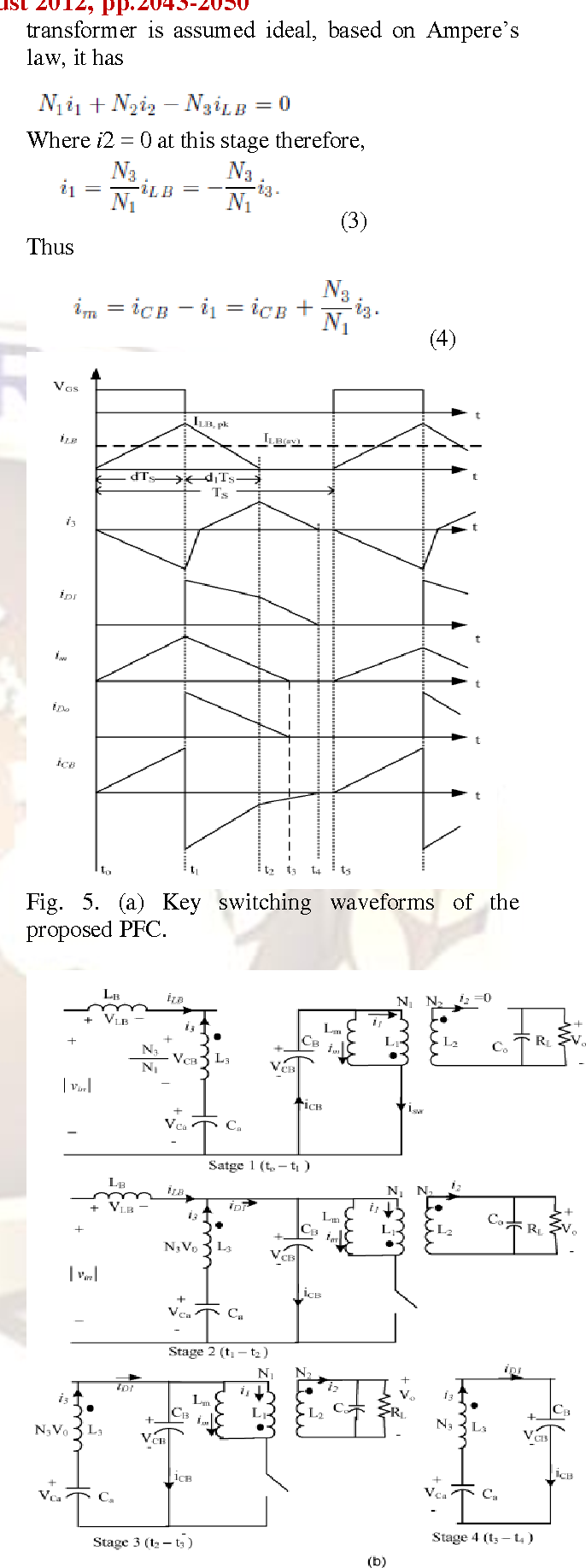Simulation Of High Efficiency Ac Dc Converter For Power Factor Circuit Diagram A Typical Correction Boost Figure 5