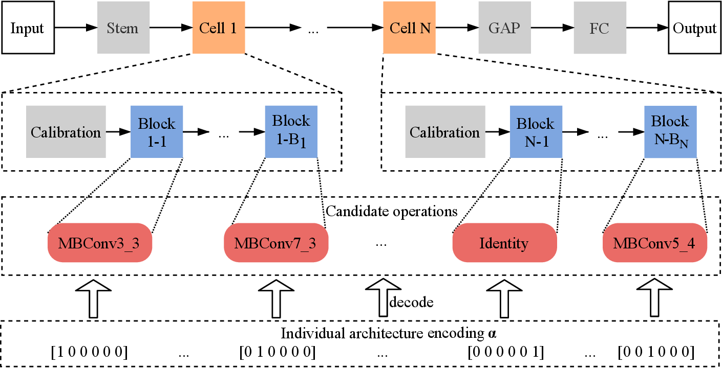 Figure 1 for Efficient Multi-objective Evolutionary 3D Neural Architecture Search for COVID-19 Detection with Chest CT Scans