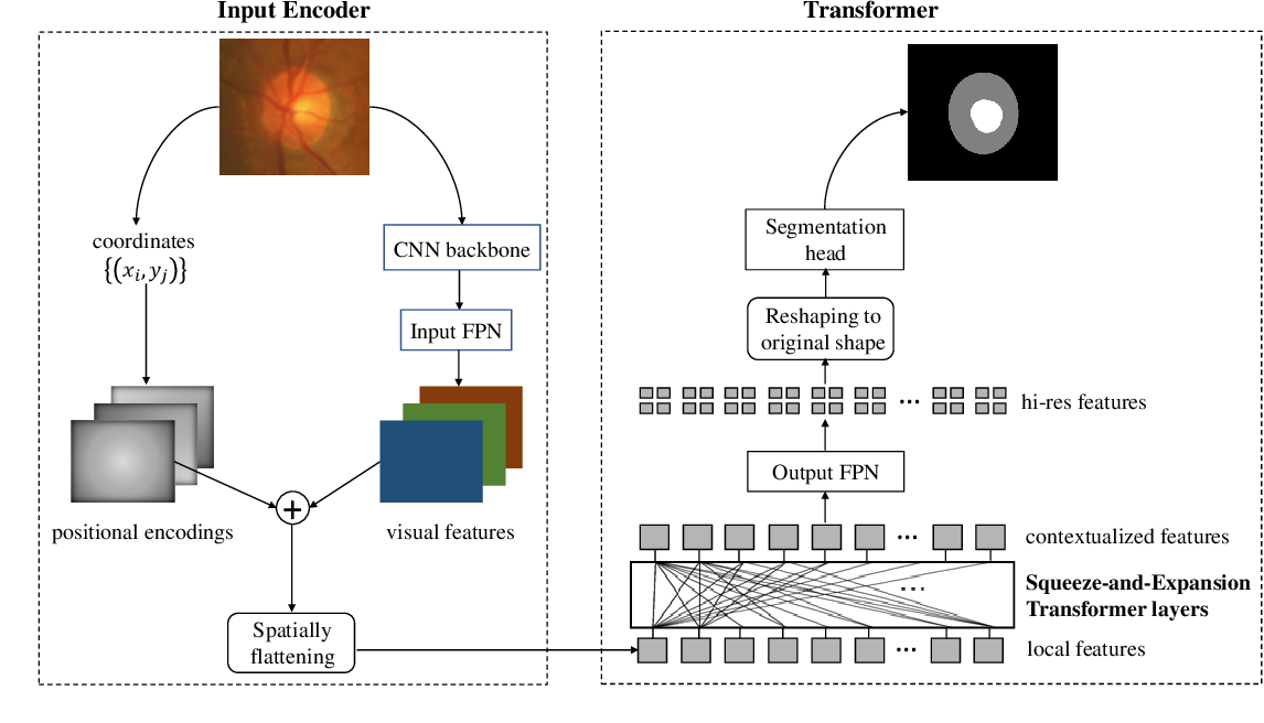 Figure 1 for Medical Image Segmentation Using Squeeze-and-Expansion Transformers