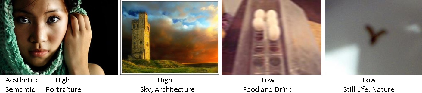 Figure 1 for Deep Aesthetic Quality Assessment with Semantic Information
