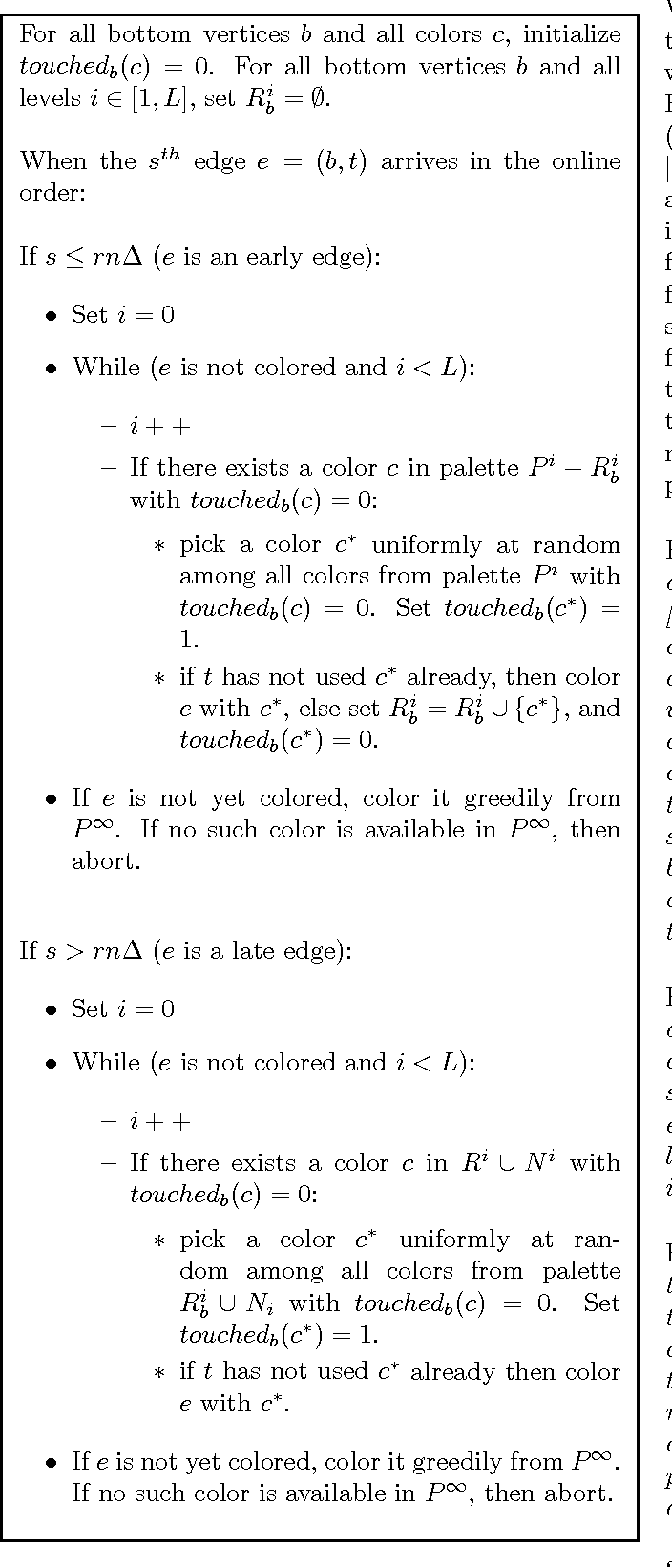 a 1 43 competitive online graph edge coloring algorithm in the
