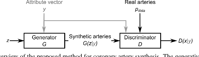 Figure 1 for Blood Vessel Geometry Synthesis using Generative Adversarial Networks
