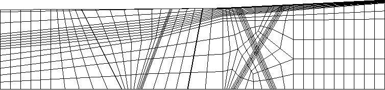 Fig. 6. Sample grid for realistic problems.