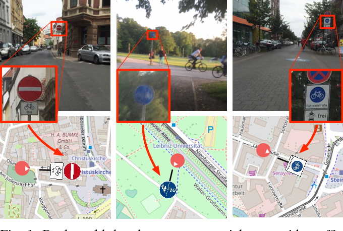 Figure 1 for Object Recognition from very few Training Examples for Enhancing Bicycle Maps