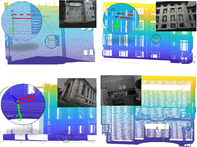 Figure 2 for Line-based Camera Pose Estimation in Point Cloud of Structured Environments