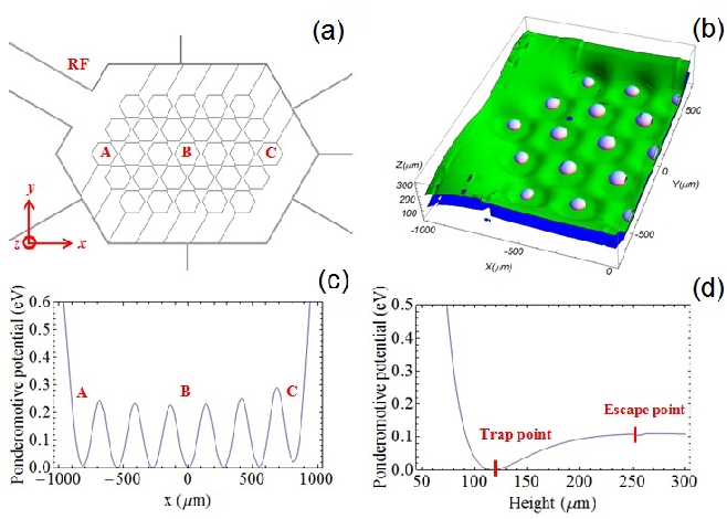 Figure 2 from Microfabricated two-dimensional (2D) hexagonal lattice