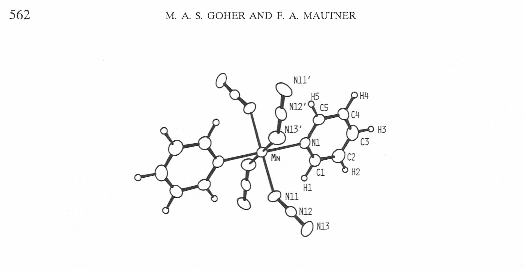 Figure 1 From Crystal Structure Of Polymeric Di J 1 1 3