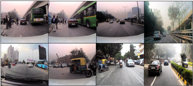 Figure 1 for Foresee: Attentive Future Projections of Chaotic Road Environments with Online Training