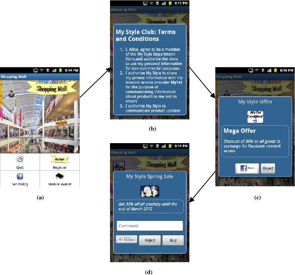 Privacy Preserving Social Mobile Applications - Semantic Scholar