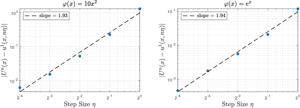 Figure 1 for Uniform-in-Time Weak Error Analysis for Stochastic Gradient Descent Algorithms via Diffusion Approximation