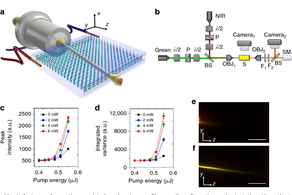 Figure 1 from Beaming random lasers with soliton control - Semantic on