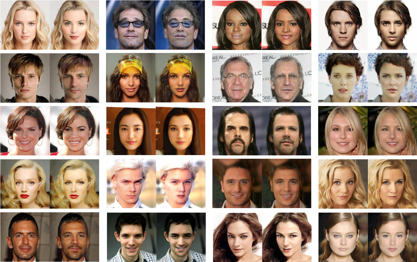 Figure 1 for IdentityDP: Differential Private Identification Protection for Face Images